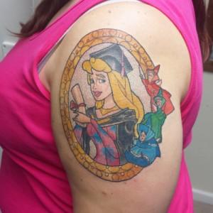 Disney Princess Tattoo Designs