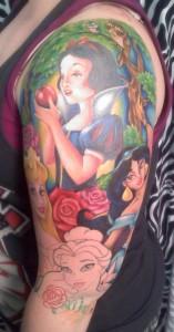 Disney Princess Tattoo Sleeve