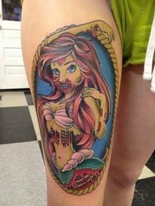 Disney Princess Tattoos Ariel