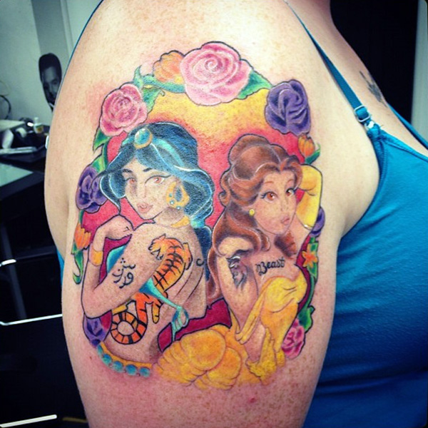 Tattoo Designs Disney: Disney Princess Tattoos Designs, Ideas And Meaning