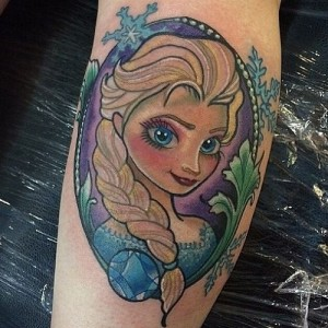 Disney Princess Tattoos Pictures