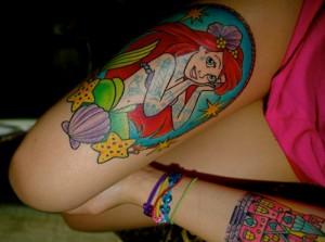 Disney Princess Tattoos for Girls