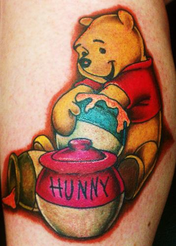 Owl Tattoos On Ankle Winnie the Pooh Tattoo...