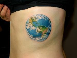 Earth Tattoo