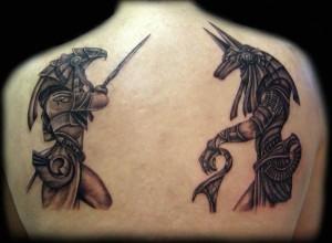 Egyptian Anubis Tattoo