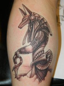 Egyptian Anubis Tattoos