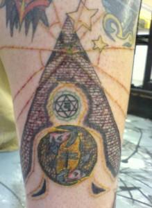 Egyptian Pyramid Tattoos