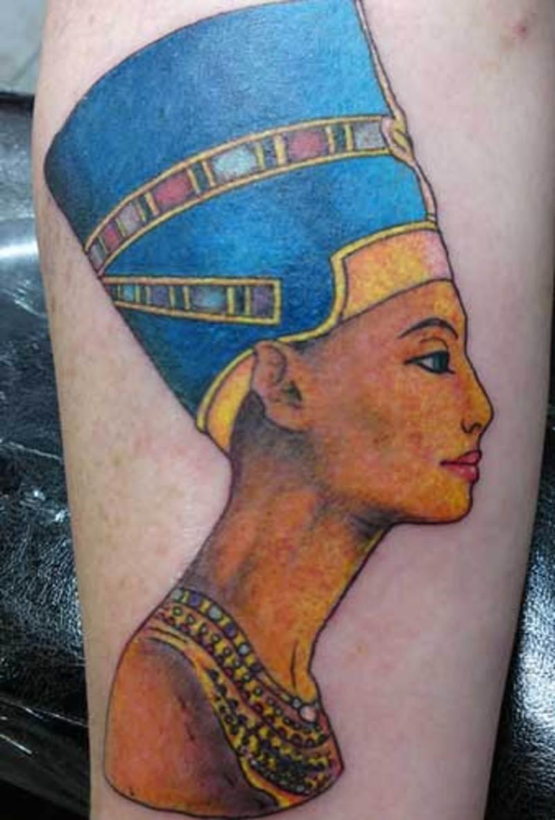 Meanings Interpretation: Nefertiti Tattoos Designs, Ideas And Meaning