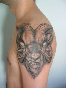 Evil Goat Tattoos