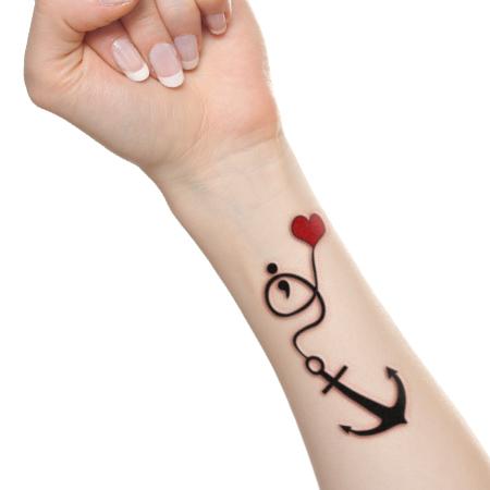 how to make love tattoo