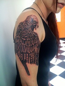 Falcon Sleeve Tattoo