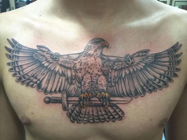 Falcon tattoo design - photo#10