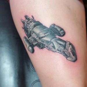 Firefly Ship Tattoo
