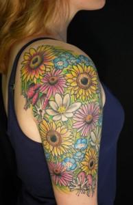Flower Tattoo Sleeves
