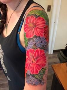 Flower Tattoos Sleeve