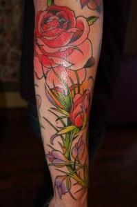 Flowers Sleeve Tattoos