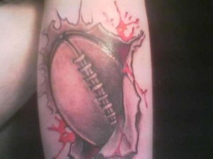 Football Tattoos for Men