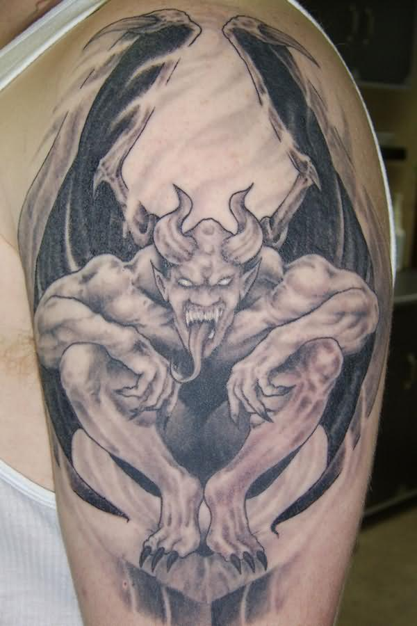 gargoyle tattoos designs ideas and meaning tattoos for you. Black Bedroom Furniture Sets. Home Design Ideas