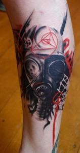 Gas Mask Tattoo Pictures