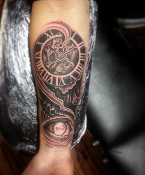 Gear Tattoos Designs, Ideas And Meaning