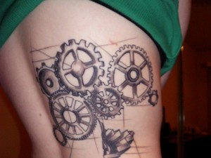 Gear Tattoos Pictures