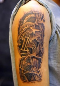 designs tattoo gear gears meaning tattoos