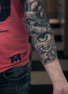 Gears Tattoo Sleeve