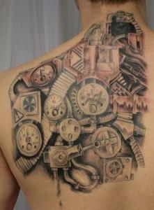 Gears Tattoos