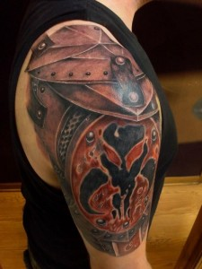 Gladiator Tattoo Shoulder