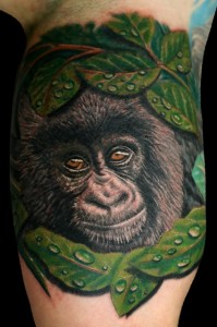 Gorilla Tattoo Images