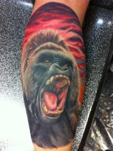 Gorilla Tattoo Pictures