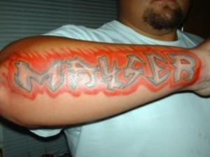 Graffiti Arm Tattoos