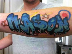 Graffiti Name Tattoos