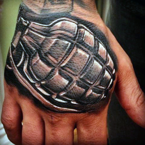 Horseshoes And Hand Grenades Tattoo