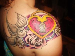 Heart Locket Tattoos