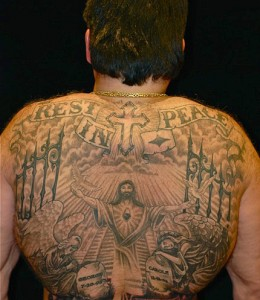 Heaven Tattoos on Back