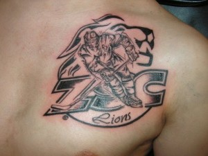 Hockey Tattoo Designs