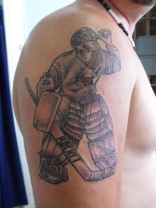 Hockey Tattoo Sleeve