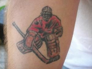 Hockey Tattoos Pictures