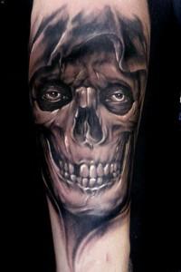Horror Skulls Tattoos