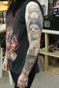 Horror Tattoo Sleeve