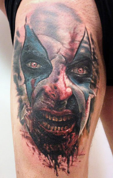 horror tattoos designs ideas and meaning tattoos for you. Black Bedroom Furniture Sets. Home Design Ideas