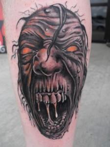 Horror Tattoos Designs