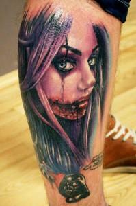 Horror Tattoos Images