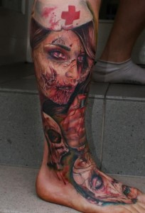 Horror Tattoos Pictures