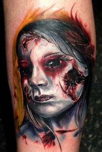 Horror Tattoos for Girls
