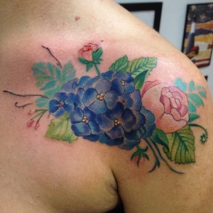 Hydrangea Tattoo Pictures