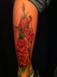 Gladiolus Tattoos Desi...