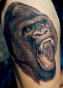 Images of Gorilla Tattoo