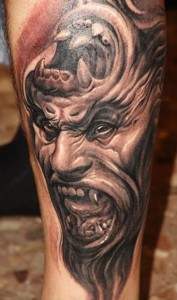 Images of Monster Tattoo